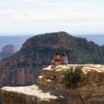 Two young travelers on one of the Living Passages Grand Canyon Christian Tours