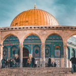 The Dome of the Rock in the Old City of Jerusalem in Israel