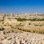 Panorama of Jerusalem from Mount of Olives